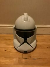 Star Wars Full Size Clone Trooper Helmet With Voice Changing Mic