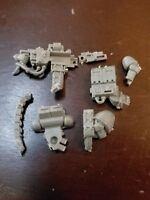 Warhammer 40k Space Marine/Necromunda Bits:Devastator Heavy Bolter B