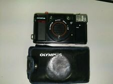 Olympus Quick Flash AFL 35mm Camera with original case. Pre-owned.        H