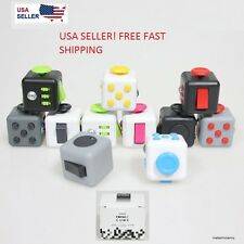 FIDGET CUBE STRESS ANXIETY DESK TOY RELIEF 6 SIDED 2017 FOR ADULT KIDS NEW