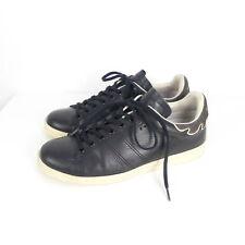 ISABEL MARANT Sneaker Turnschuhe Leder Schwarz Gr. 396 (H142)