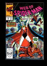 Web of Spider-Man US MARVEL VOL 1 # 46/'89
