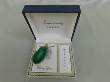 Sterling Silver Necklace Green Agate Slice Inspirational Charm Pendant