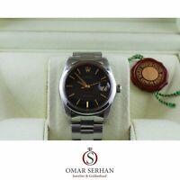 Rolex Oysterdate Precision Ref. 6694 Edelstahl Papiere Box