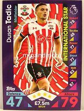 Match Attax 2016/17 Premier League - #MT39 Dusan Tadic - International Star