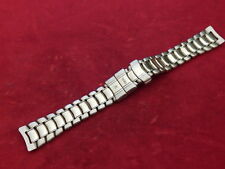 GENUINE EBEL SOLID STAINLESS STEEL 1911 DISCOVERY LADIES DATE 15MM BAND BRACELET