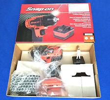 "Snap On 18v 3/8"" Monster Lithium Cordless IMPACT Wrench Ltd Edt Orange CTEU8810"