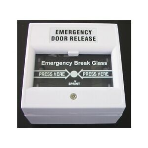 SECOR DWS100W Emergency Door Release Button Brand New FREE POSTAGE