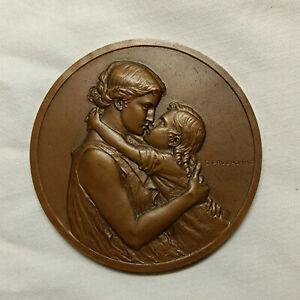 Médaille en bronze Monnaie de Paris sculptée par G. Prud'homme 1974