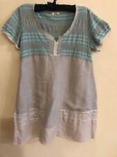 Linen Plus Size Women's Tunic/Smock Dress Dresses