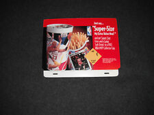 Michael Jordan 1994 McDonald's Unused Register Topper Super Size My Meal!