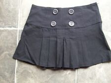 Viscose Pleated Hand-wash Only Solid Skirts for Women