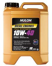 Nulon Full Synthetic Heavy Duty Diesel Engine Oil 10W40 10L SYND10W40-10 fits...