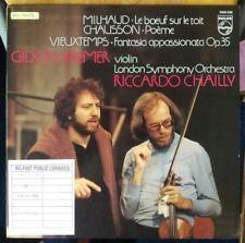 Milhaud / Chausson / Vieuxtemps (Holland 1981) : Gidon Kremer & Riccardo Chailly