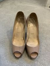 Christian Louboutin Nude Size 38 Ladies Shoes
