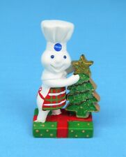 "New Pillsbury Doughboy Danbury Mint ""Christmas"" Miniature Figurine Freeship"