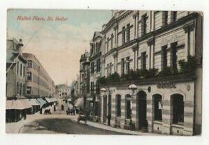 Jersey St Helier Halket Place 21 Sep 1920 Postcard Channel Islands 323c
