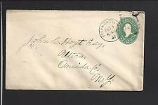 OCEAN GROVE, NEW JERSEY 1897 COVER MONMOUT CO. 1871/OP.