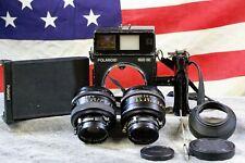 Polaroid 600 SE w/ Mamiya 127mm f/4.7 & 100mm f/3.5 plus accessories FILM TESTED