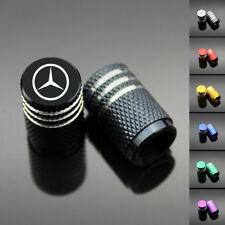 4PCS Chrome Car Wheel Tyre Tire Air Valve Caps Stem Cover for Mercedes-Benz