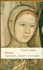 PARNASO ITALIANO. Volume III. Francesco Petrarca. Canzoniere. Einaudi, 1968