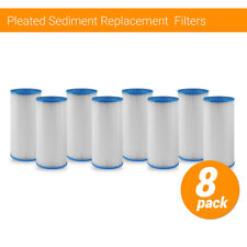 8pc Culligan R50-BBSA Compatible Heavy Duty Water Cartridge HD-950 Filters