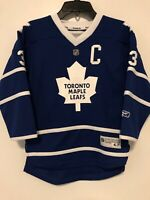 NHL Reebok Toronto Maple Leafs Phaneuf Youth Size 4-7 Hockey Jersey Pre-Owned