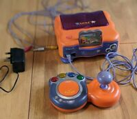 Vtech Vsmile V.smile Console with Winne the Pooh game and cables.
