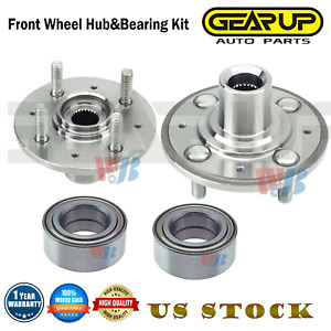 Honda Civic Coupe 1996-2000 Rear Hub Wheel Bearing Kits Pair