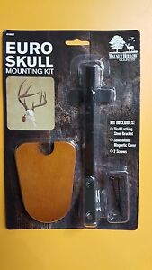 European Skull Mount Bracket. Skull Hook  Fits Deer,