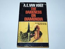 THE DARKNESS ON DIAMONDIA - A.E. VAN VOGT - ACE BOOKS 1ST PBO 1972 SCI-FI SF