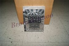 Rock Band Metal Track Pack PS3 NEW SEALED