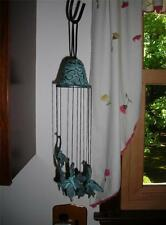 Brass Butterfly Wind Chimes by Spi - San Pacific International~List $40.00~Nib