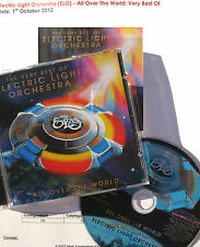 E.L.O. ELECTRIC LIGHT ORCHESTRA CD 2012 + PROMO Very Best Of  All Over The World