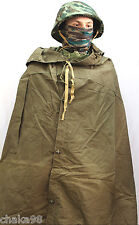Soviet Army Plash-Palatka Khaki Green Color orginal with Leather rings luvers