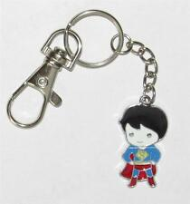 SUPERBOY Superman Metal Novelty KEY CHAIN Ring Keychain with Belt Clasp NEW