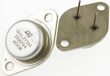 2N6284 Original Pulled ST Darlington Silicon Power Transistor 100V 10A 160W NPN