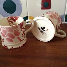 Emma Bridgewater Pink Vine Rerun Baby  Mug NEW