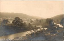 View of Clymer PA From Road to Dixonville PA RP Postcard 1907-14