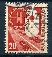 ALLEMAGNE Féd. timbre 55, Automobiles, oblitéré