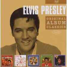 ELVIS PRESLEY Original Album Classics 5CD NEW Golden Records Vols 1 2 3 4 5