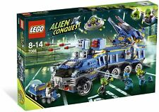 Brand New Lego Alien Conquest 7066 Earth Defense HQ w/3 Exclusive Minifigures!