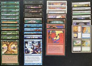 MTG lotto carte magic diverse rarità, vecchie edizioni, buone condizioni