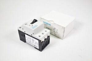 SIEMENS 3RV1011-1FA10, Leistungsschalter E01 - NEU