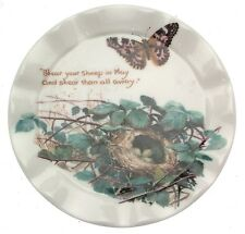 The Country Diary of an Edwardian Lady Spring Month of May plate - small size CP