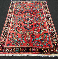 Alter Orient Teppich 159 x 112 cm Perserteppich Rot Floral Red Carpet Rug Tapis