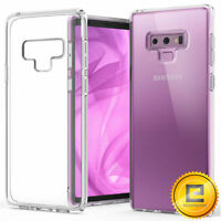 For Samsung Galaxy Note 9 Crystal Clear Hard Slim Armor Protective Case Cover