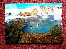 THE CHAMPAGNE POOL  FRASER  ISLAND  QUEENSLAND COLOUR  POSTCARD [176]