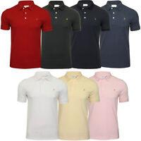 Farah Mens Polo Shirt 'Blanes Polo' - Short Sleeved