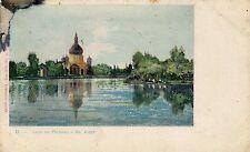 Argentina Buenos Aires - Lago de Palermo old postcard